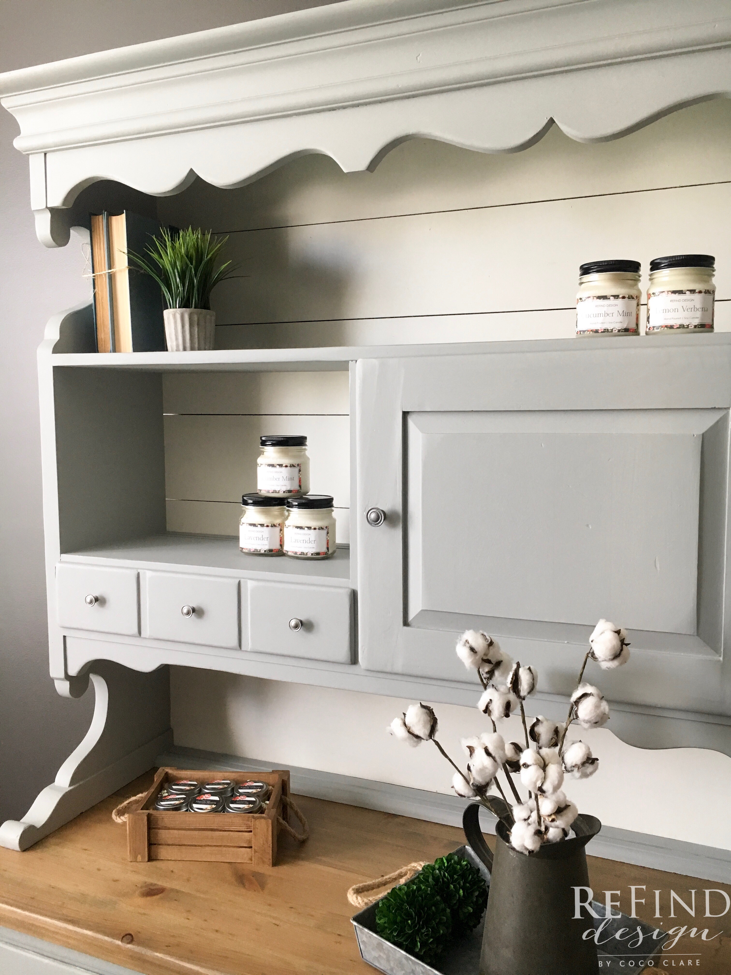 Shiplap China Cabinet General Finishes 2017 Design Challenge