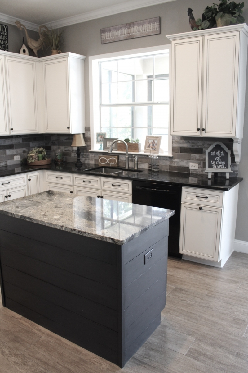 classic chic kitchen makeover general finishes 2017 design challenge