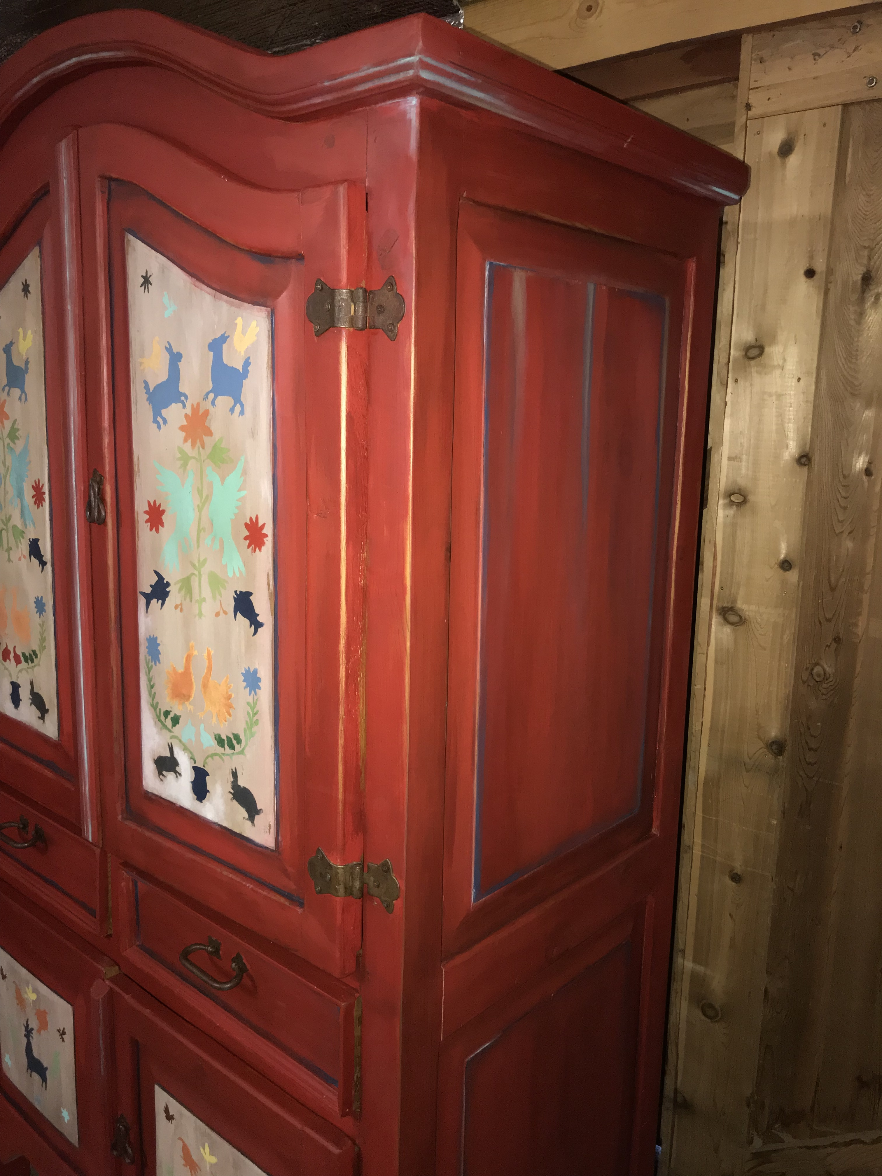 Mexican Armoire | General Finishes 2018 Design Challenge