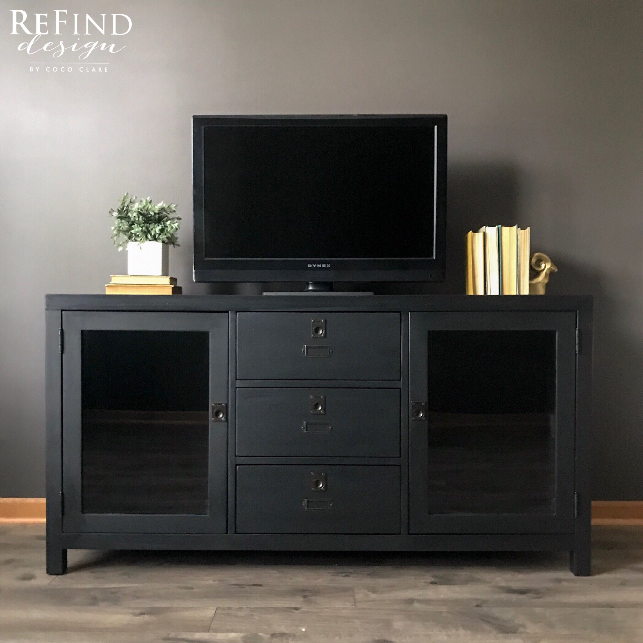 pottery barn entertainment center general finishes 2018 design challenge. Black Bedroom Furniture Sets. Home Design Ideas