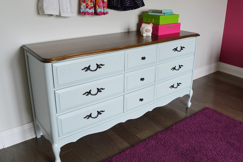 Summer Sky French Provincial Dresser General Finishes