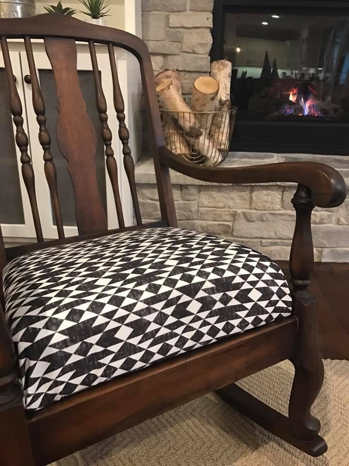 Fabulous Vintage Queen Anne Style Rocking Chair General Finishes Gamerscity Chair Design For Home Gamerscityorg