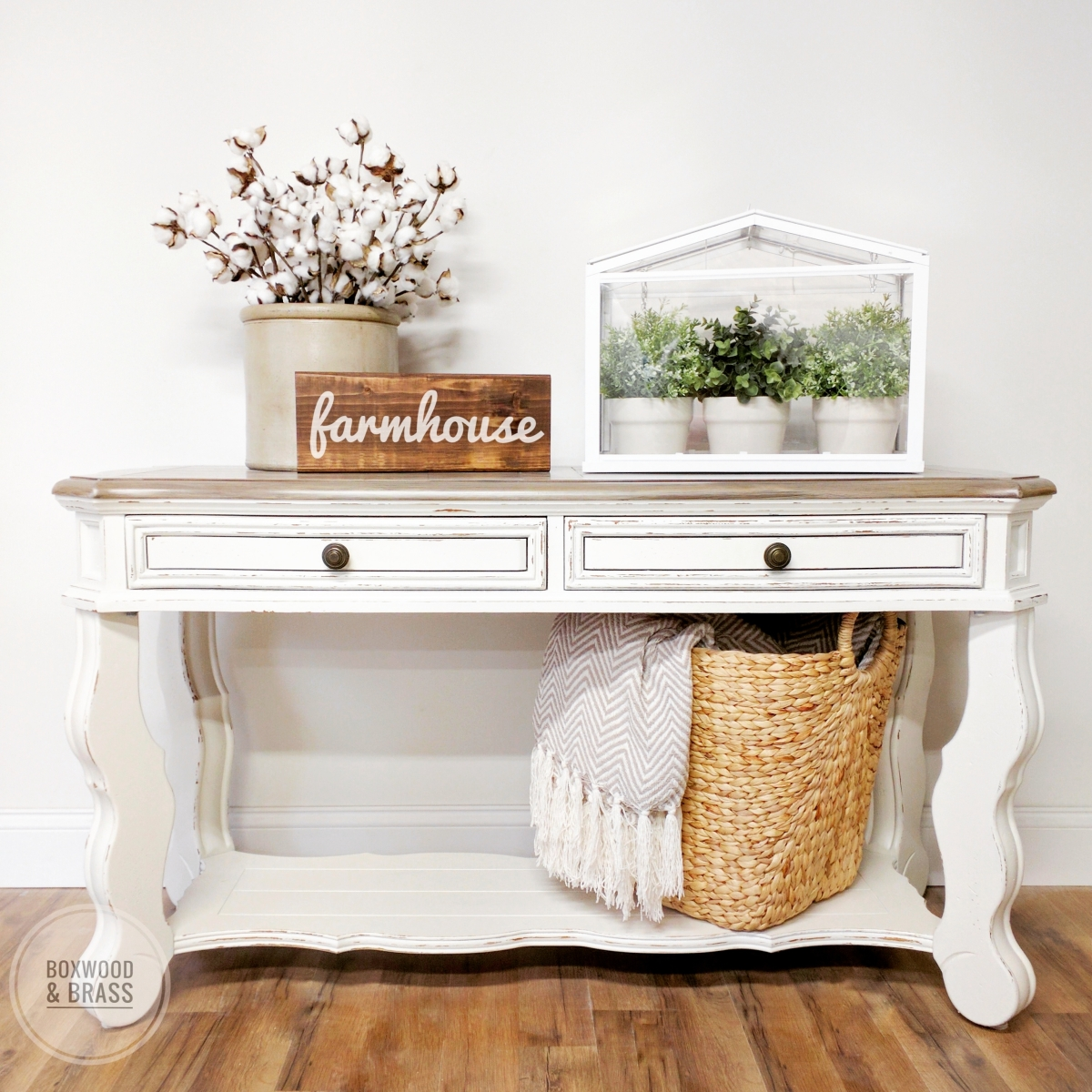 Modern Farmhouse Sofa Table General Finishes 2018 Design